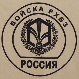 Футболка с эмблемой РХБЗ от военторга Военпро