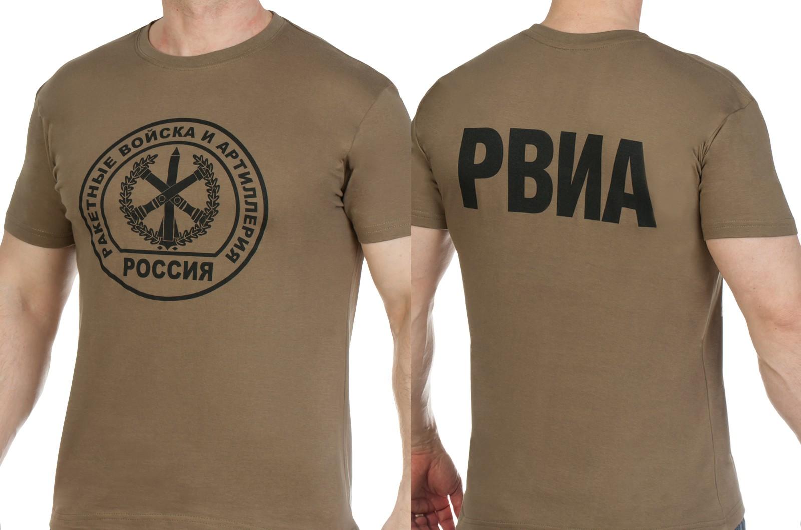 Заказать футболки с эмблемой РВиА
