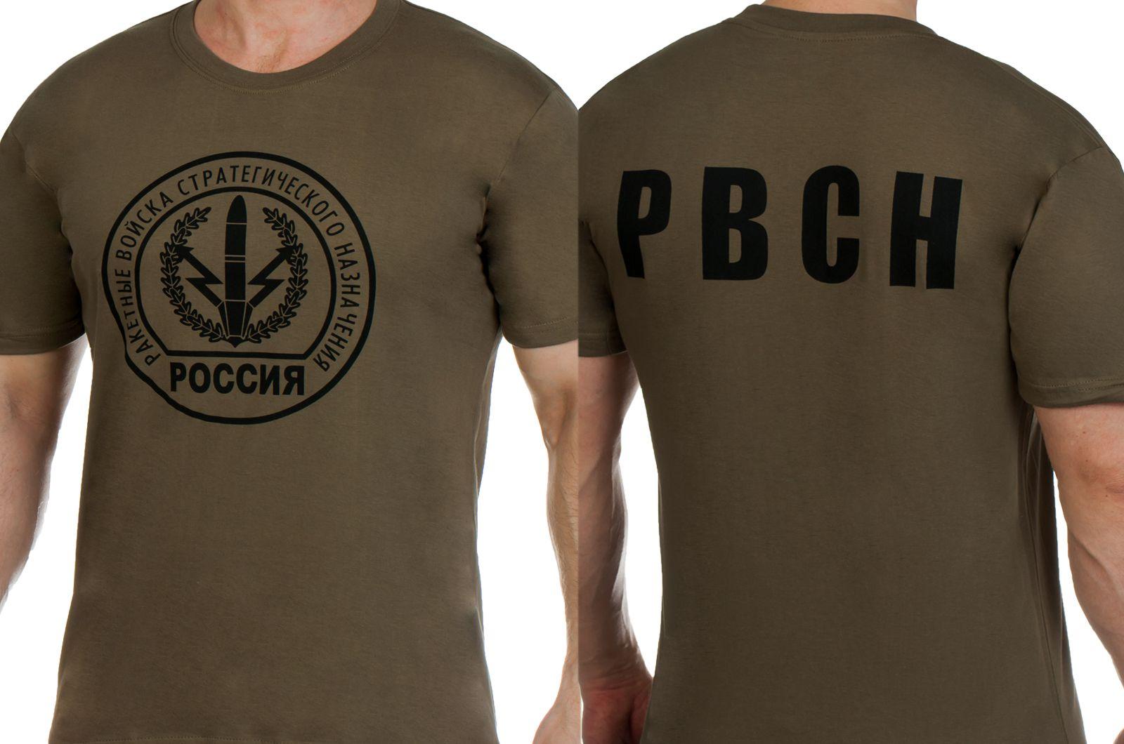 Заказать футболки с эмблемой РВСН