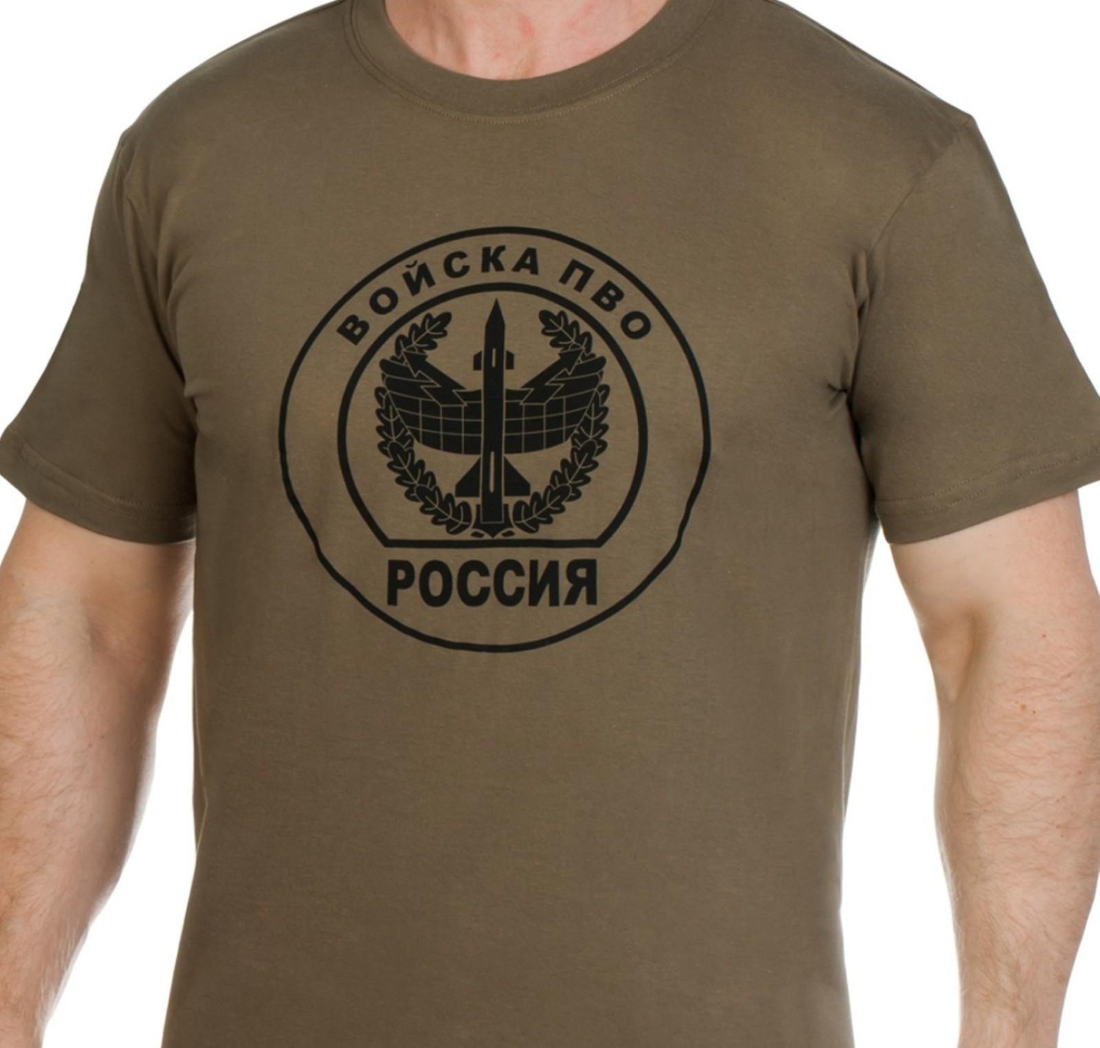 Футболка с эмблемой Войск ПВО