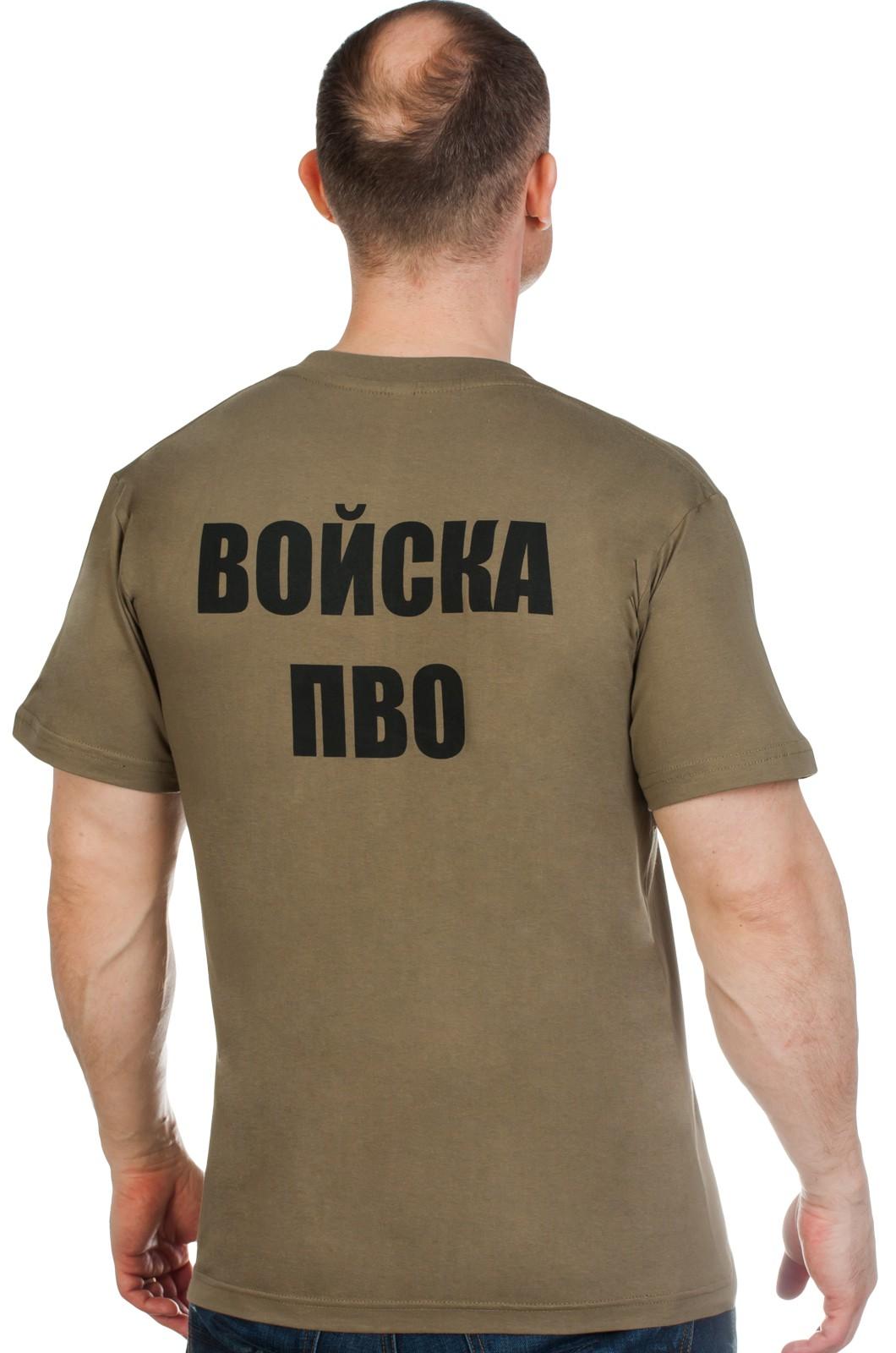 Футболка с эмблемой Войск ПВО по низкой цене