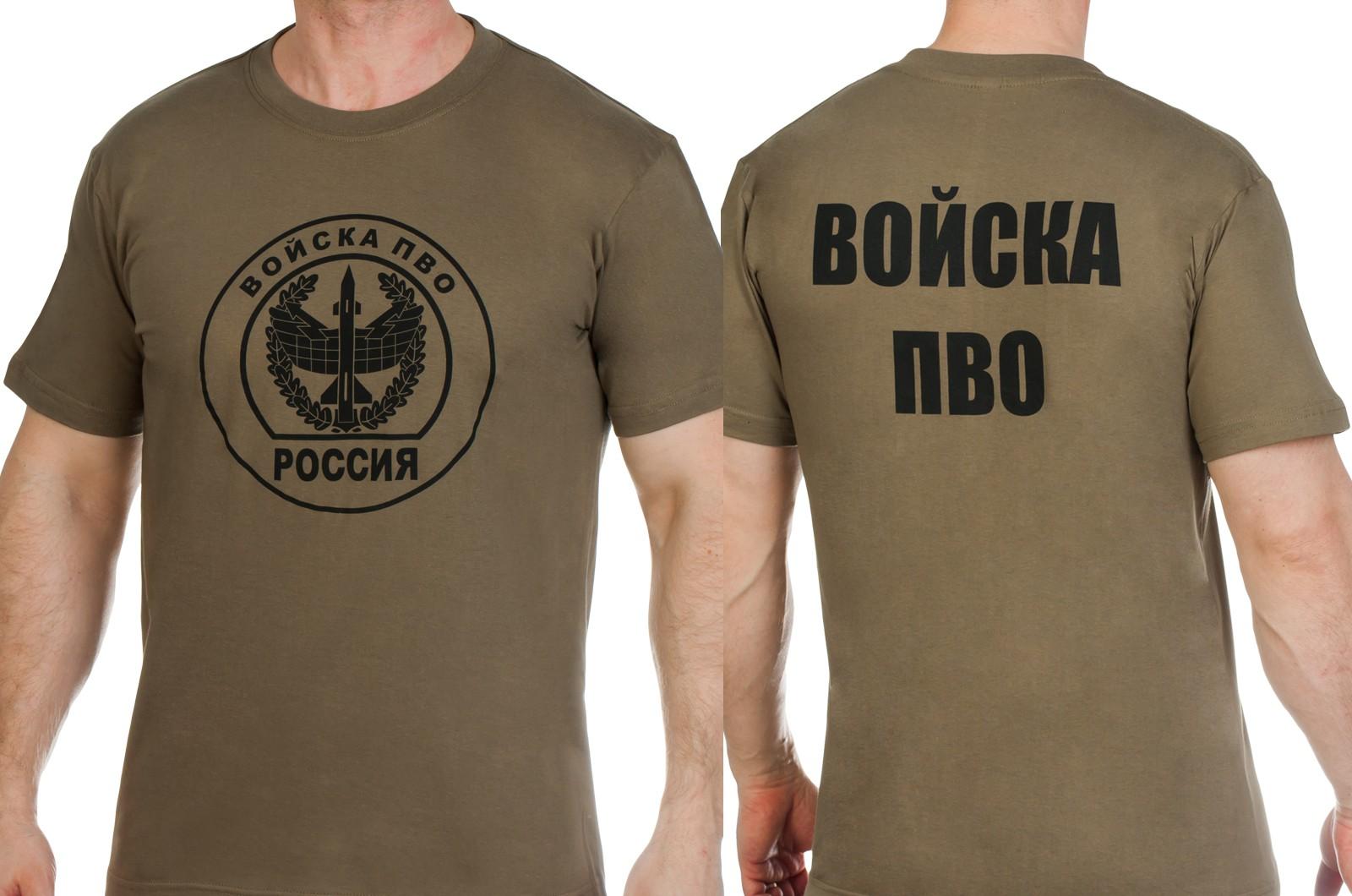 Заказать футболки с эмблемой Войск ПВО