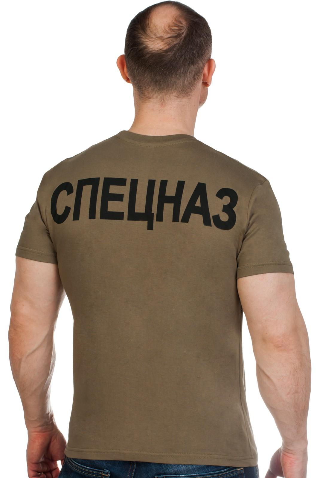 Футболка с эмблемой Войск Спецназа ГРУ по выгодной цене