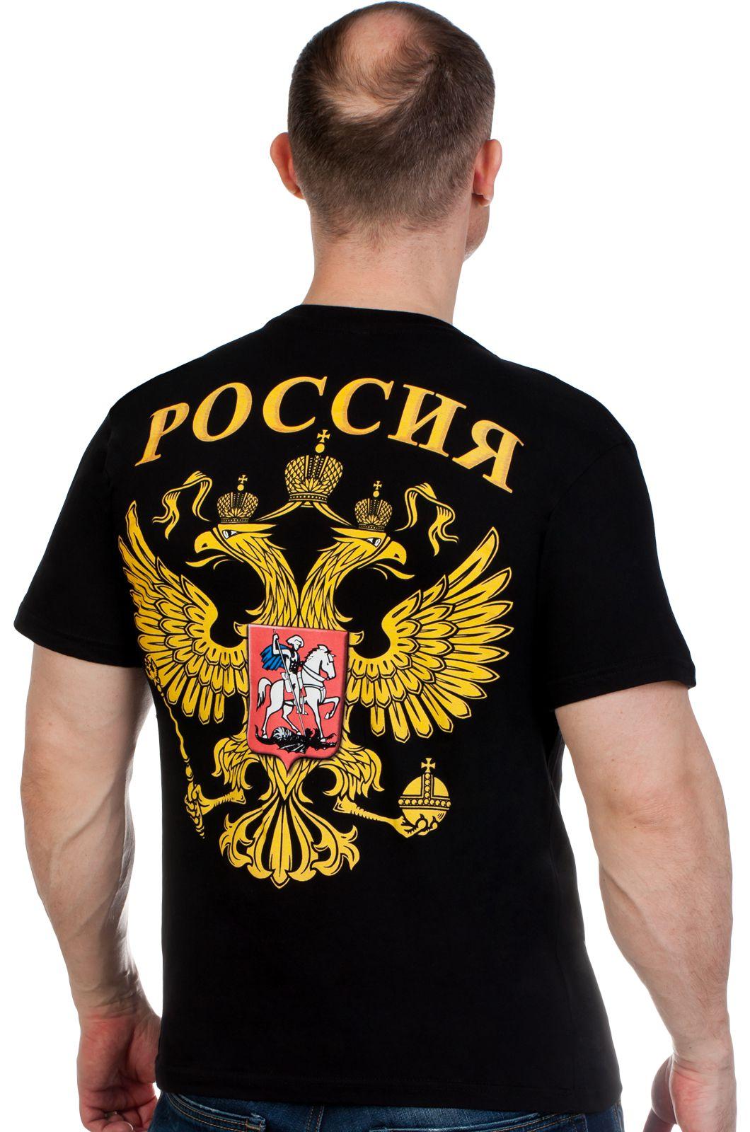 """Футболка с фото Путина """"Главком"""" по выгодной цене"""