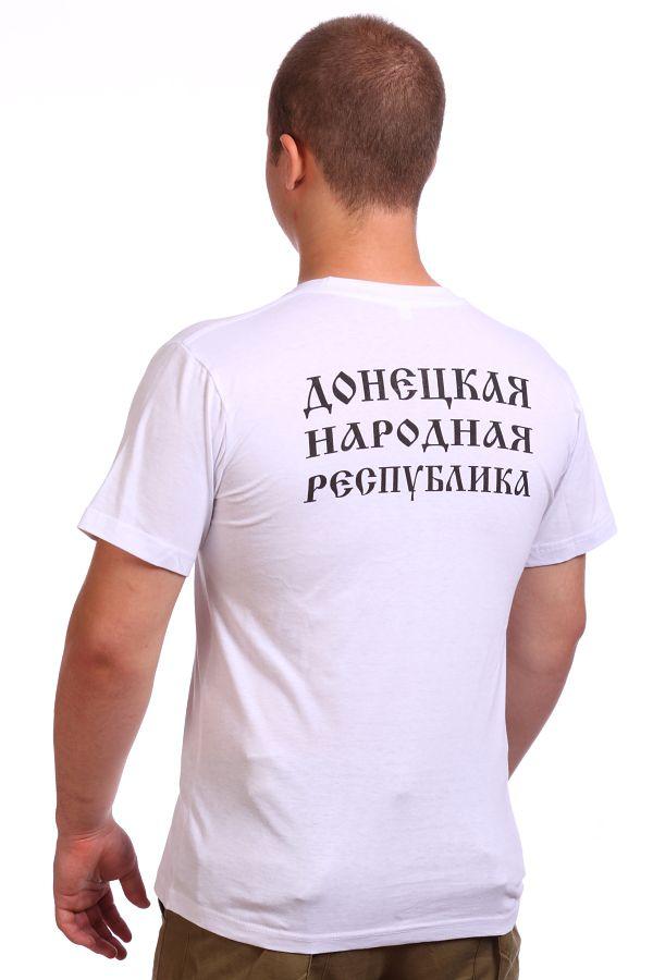 Футболка с гербом Донецкой Республики