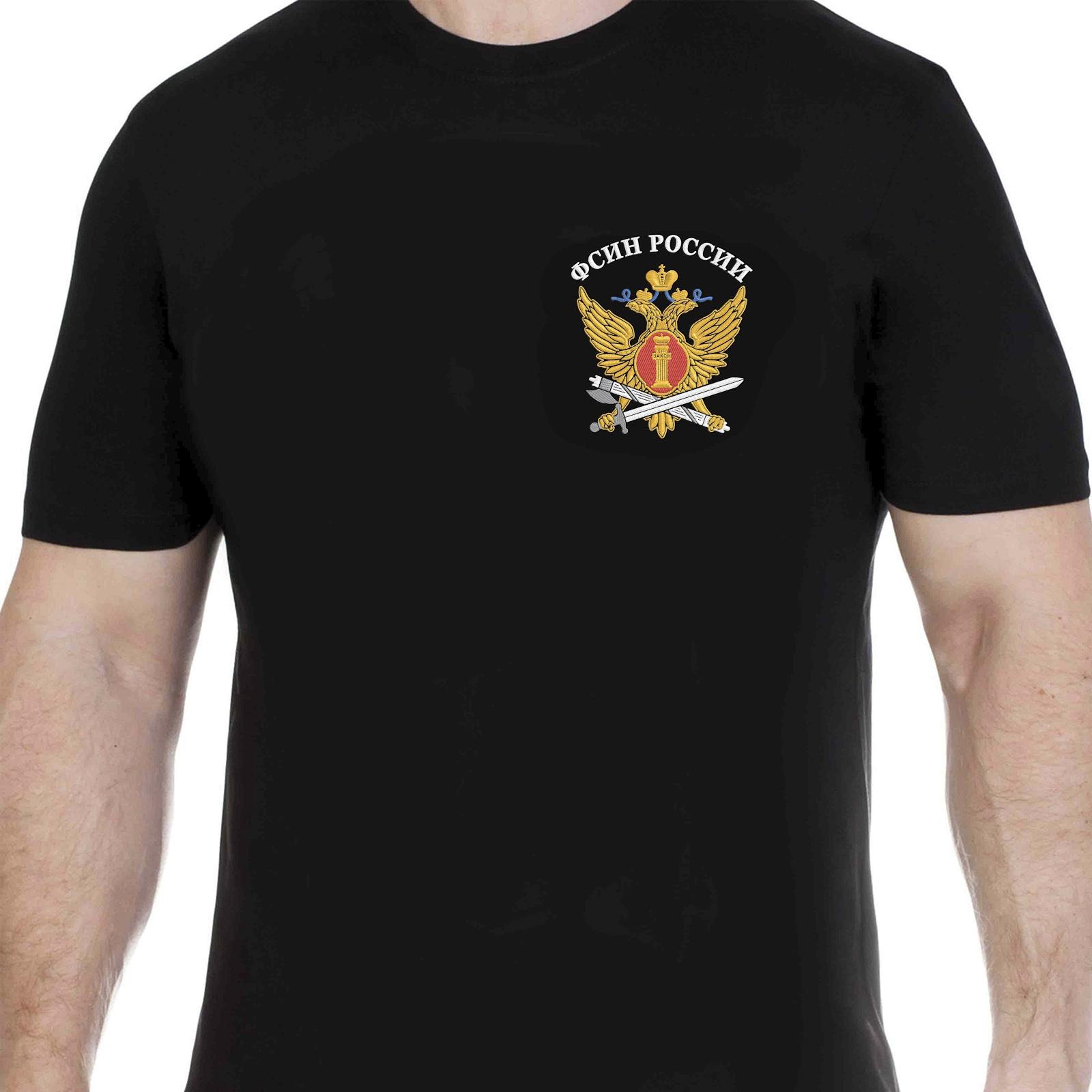 Футболка с гербом ФСИН России
