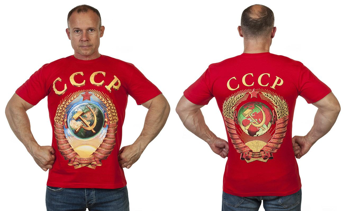 Оригинальная футболка из ностальгической коллекции СССР с доставкой