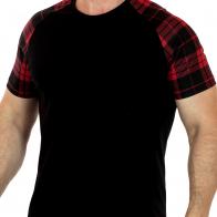 Мужская футболка Splash с контрастными рукавами и спинкой – летняя коллекция от дизайнеров ОАЭ