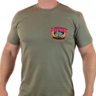 Классическая мужская футболка с мощным принтом МОРПЕХ.
