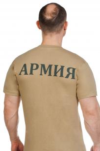 Футболка с надписью «Армия» по выгодной цене