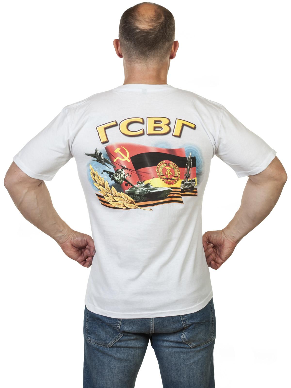 Хлопковая футболка с принтом ГСВГ от Военпро
