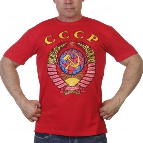 Футболка с Советской символикой