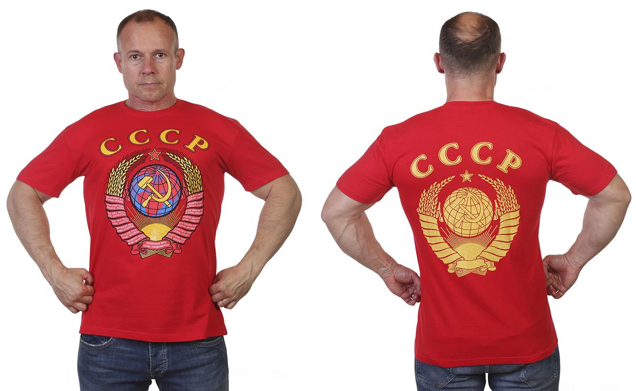 Заказать футболку с Советской символикой