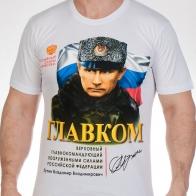 Футболка с портретом Путина,