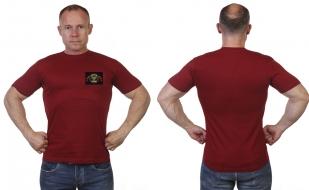 Мужская футболка с шевроном Войска ПВО России