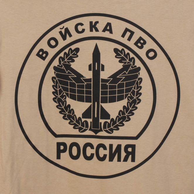 Футболка с символикой ПВО