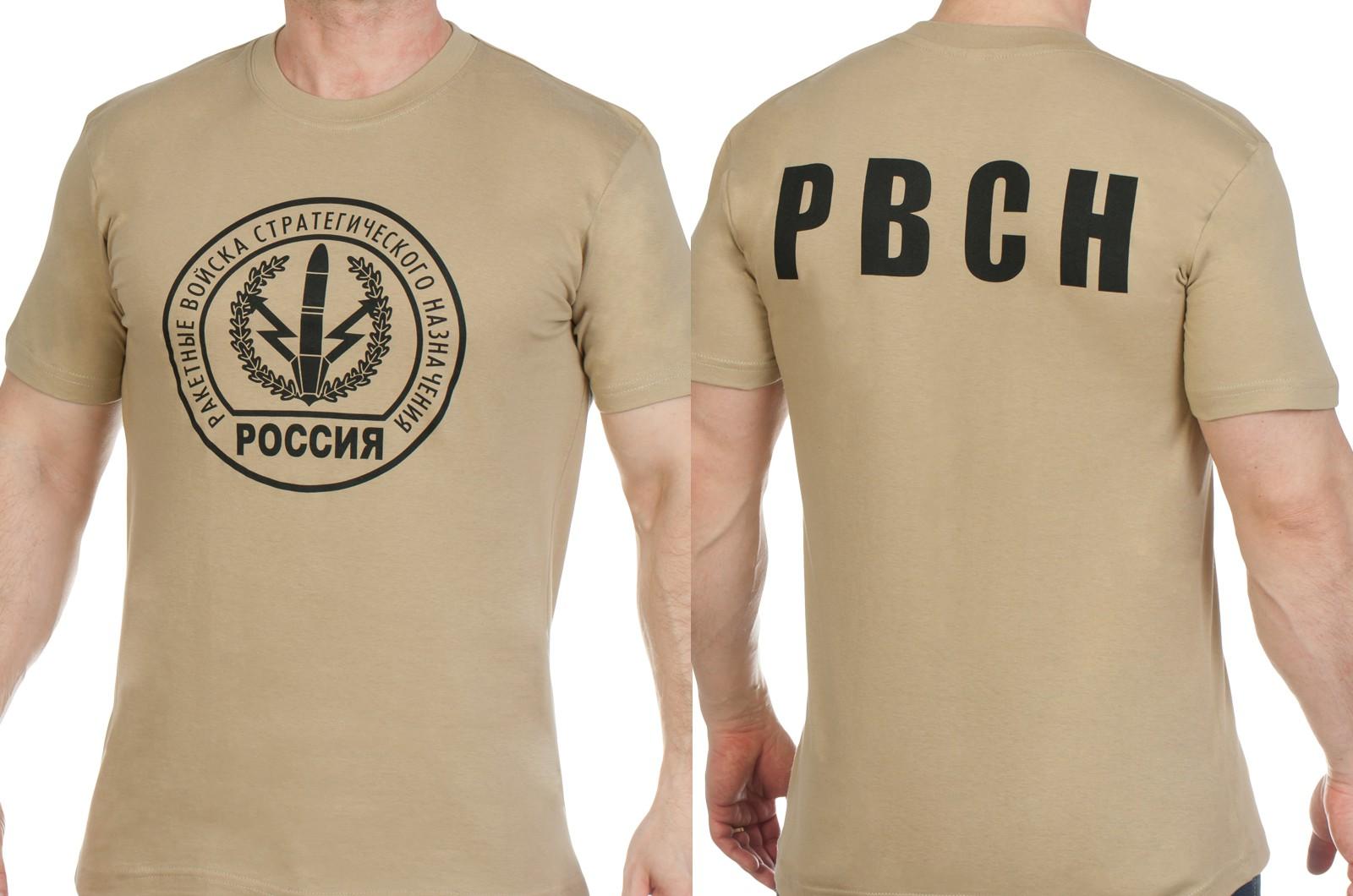 Заказать оптом футболки с символикой РВСН