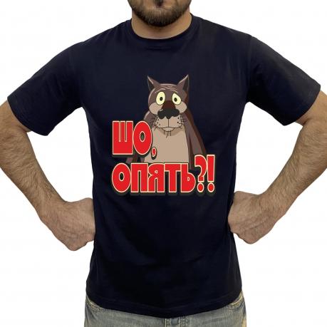 Мужская футболка с волком из Жил-был пес
