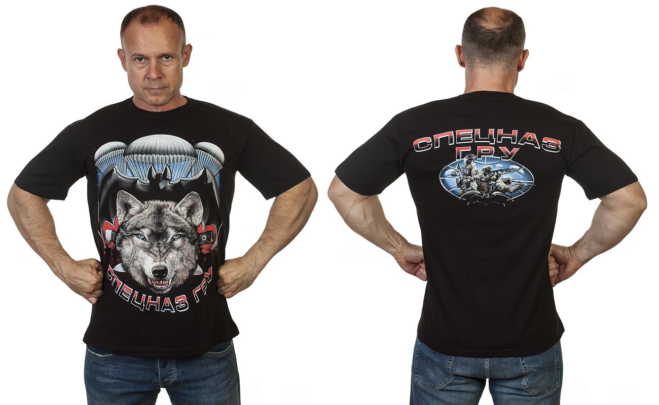 Заказать футболку с волком Спецназ ГРУ