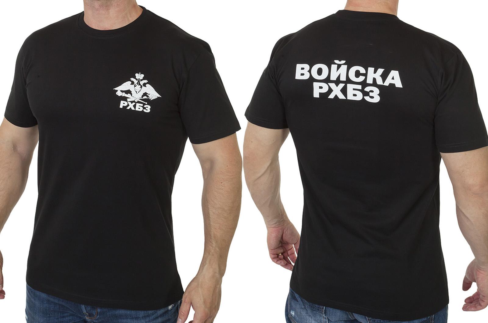 """Заказать футболку с принтом """"Войска РХБЗ"""""""