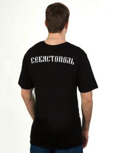 Футболка «Севастополь» чёрная