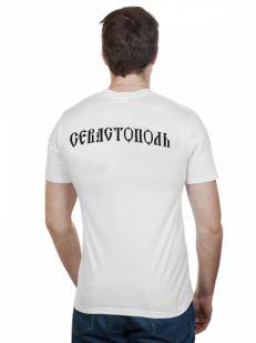 Футболка «Севастополь» белая