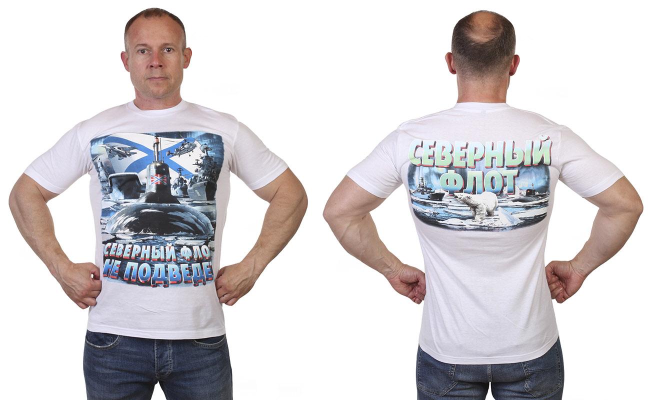Заказать футболки Северный флот России