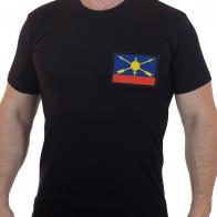 Военная футболка с вышивкой РВСН России.
