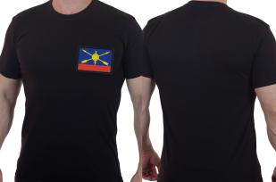 Военная футболка с шевроном РВСН России