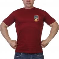 Краповая футболка с символикой Победы