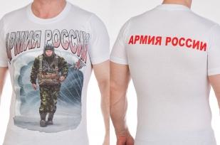 """Заказать оптом футболки """"Солдаты России"""""""