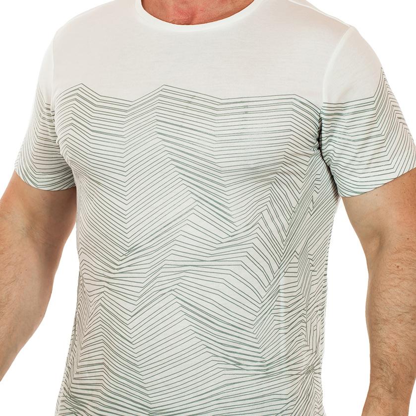 Мужская футболка Splash – прямой крой, короткий рукав – лаконичный минимализм