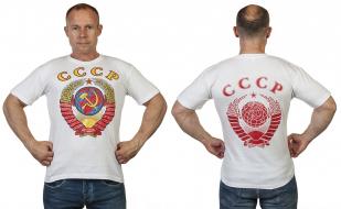 Заказать футболки с цветным гербом СССР