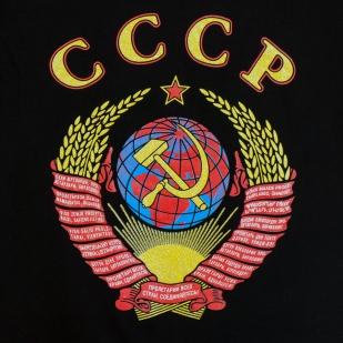 Футболка СССР с гербом - цветной принт
