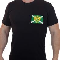 Классическая футболка с шевроном Таможни РФ