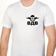 Белая футболка ВДВ
