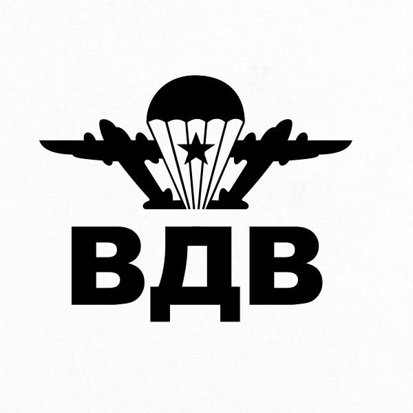 Футболка ВДВ «Классика» с символикой десантников