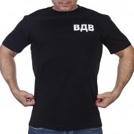 Черная уставная футболка ВДВ