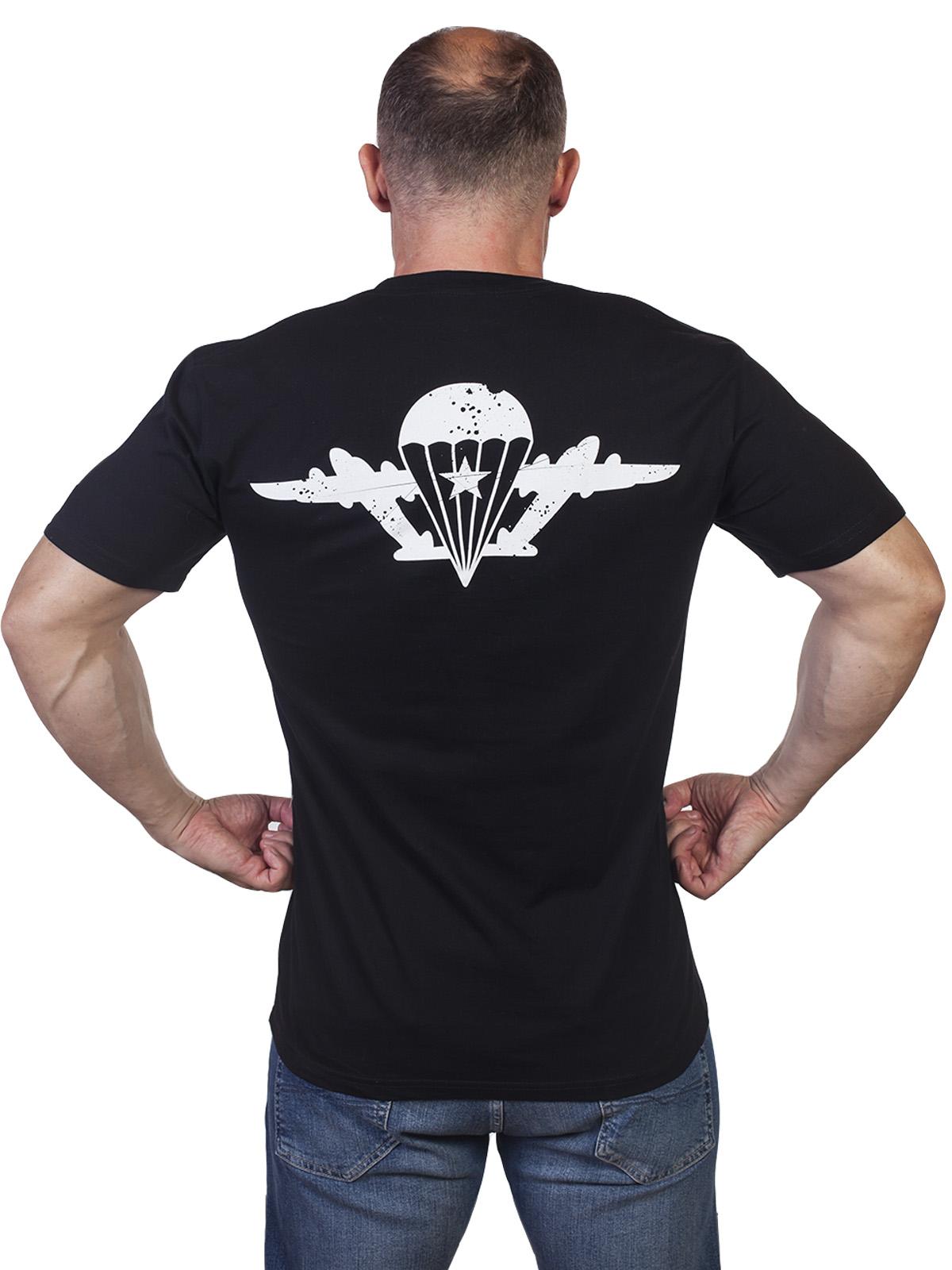 Черная уставная футболка ВДВ - купить выгодно