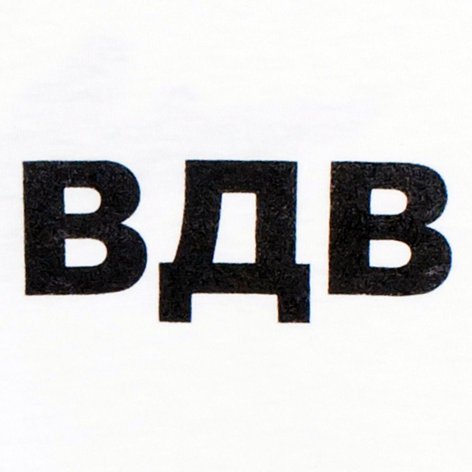 Белая футболка ВДВ «Крылья»