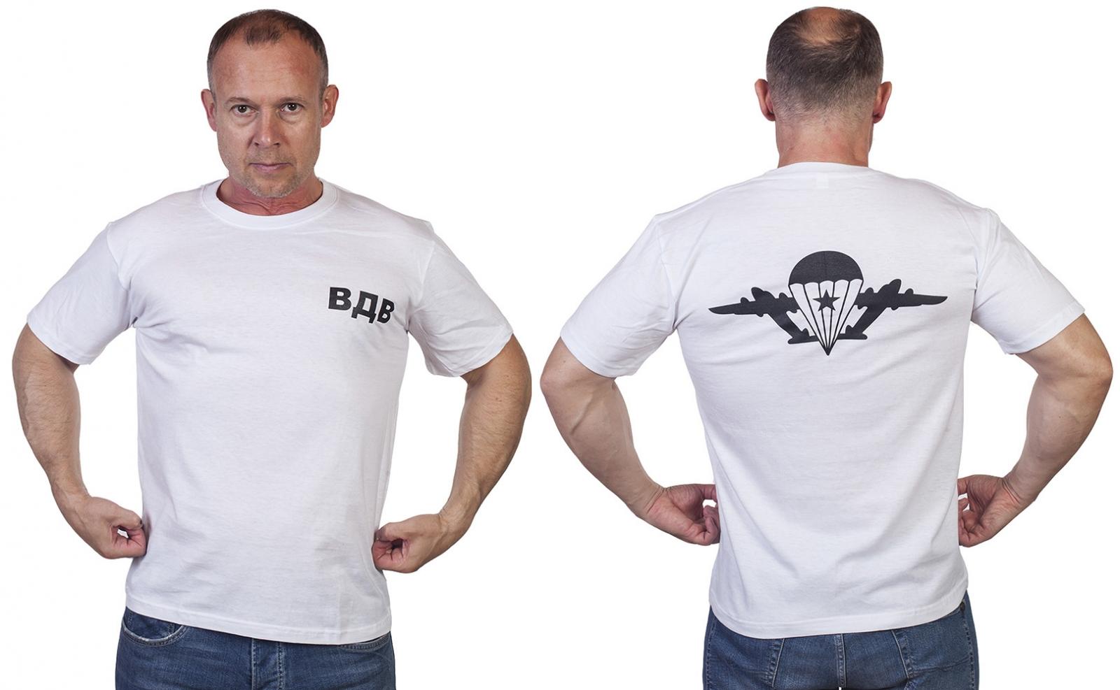 Футболка ВДВ «Крылья» - лучший подарок на день десантника - купить в Военпро