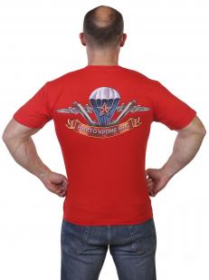 Красная футболка Слава ВДВ по лучшей цене