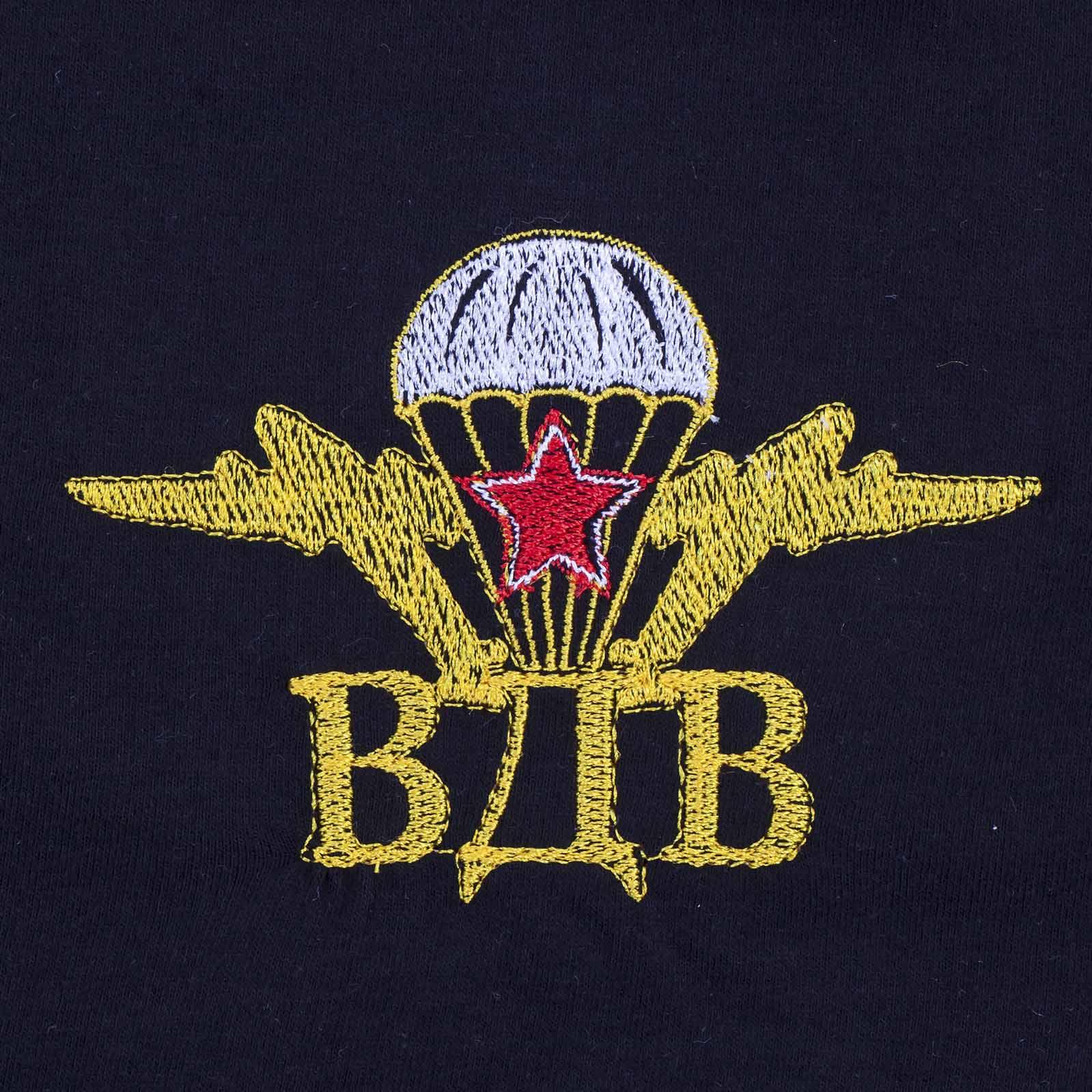 Заказать футболку ВДВ с вышитой эмблемой