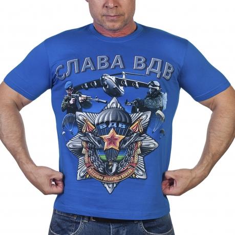 Стильная футболка с символикой ВДВ