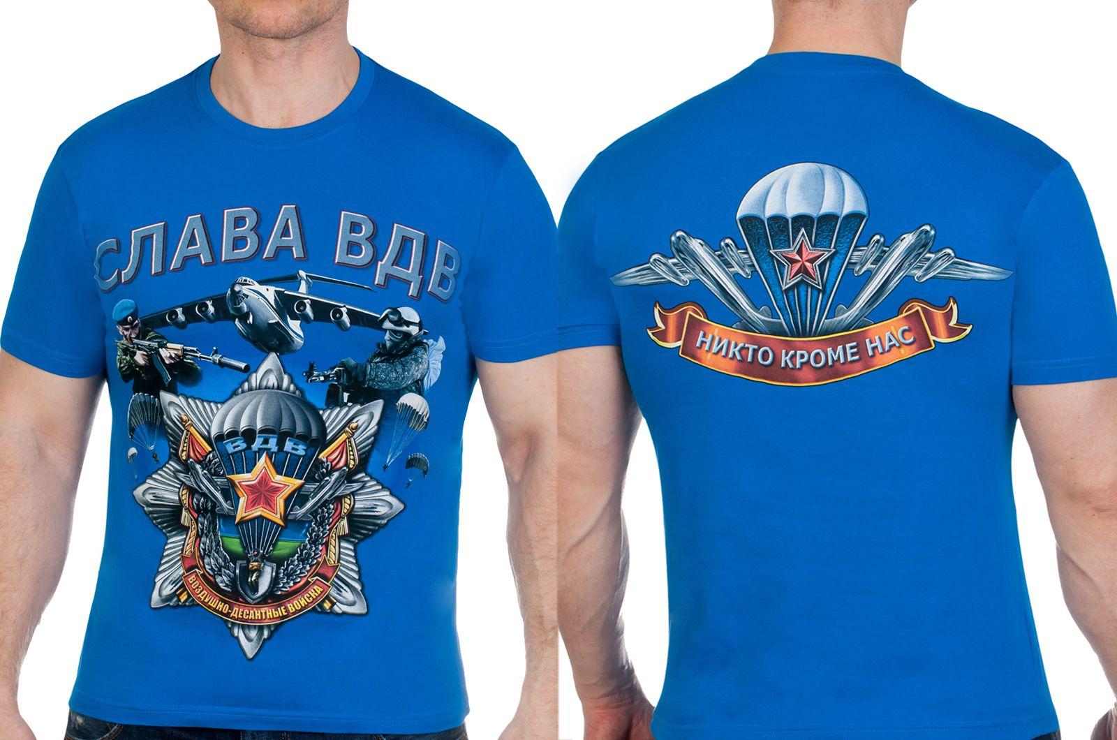 Заказать футболки ВДВ со звездой