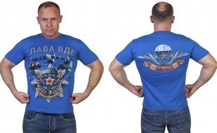 Стильная футболка с символикой ВДВ - купить с доставкой