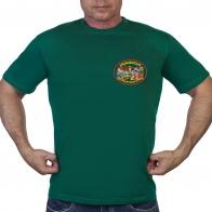 Зеленая футболка Владикавказский пограничный отряд