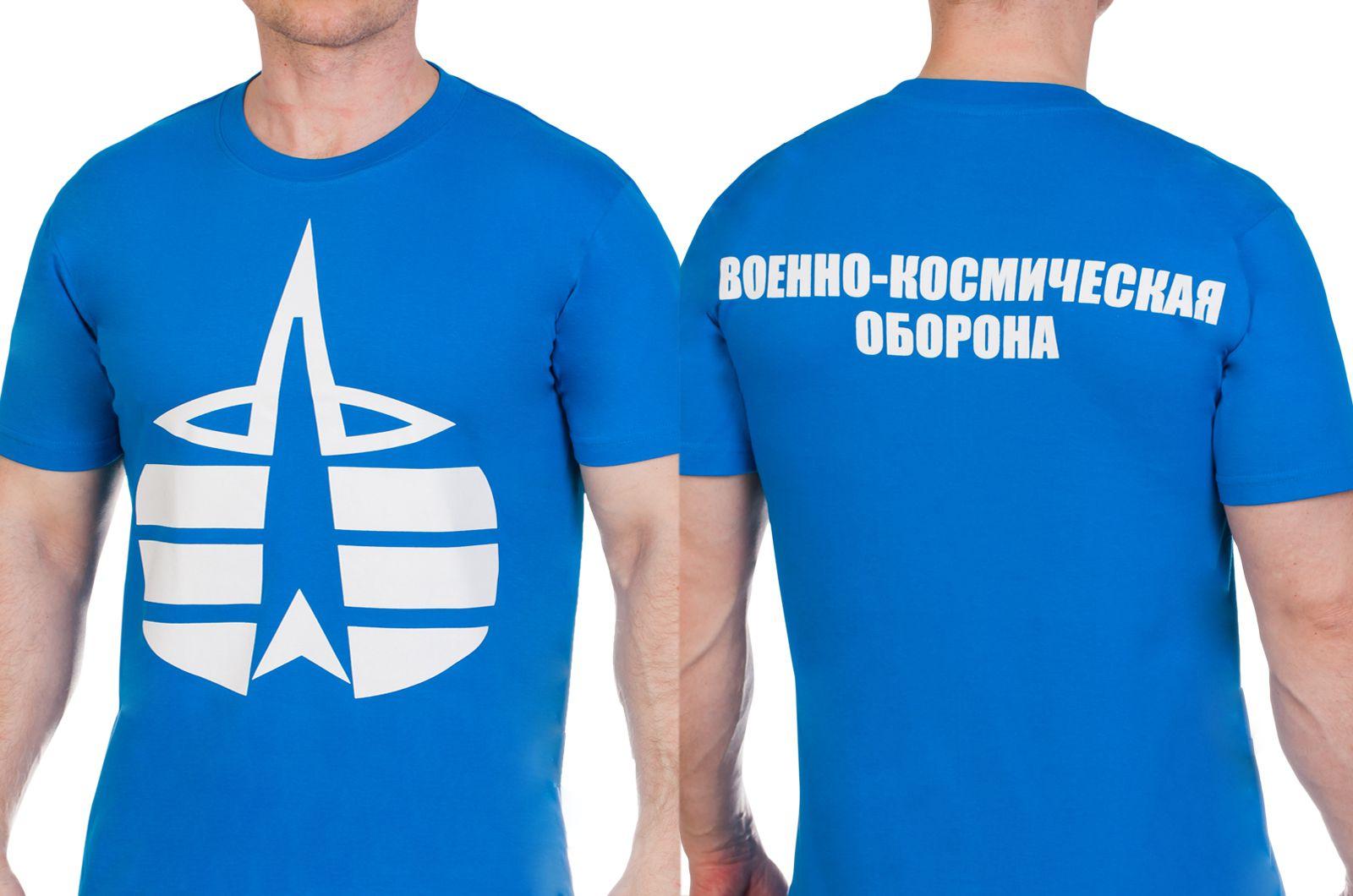 Заказать футболки «Воздушно-космическая оборона»