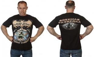 Заказать футболку 100 лет Военной разведке