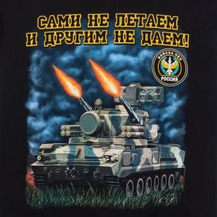 Футболка «Войска ПВО» - принт